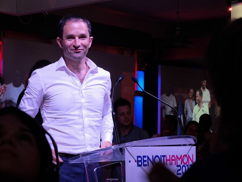 Meeting de B. Hamon
