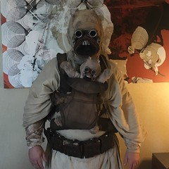 tusken raider 2016 (timp37) Tags: me chicago illinois wizard world comic con august 2016 rosemont conlife cosplay cosplayer hyatt regency hotel baby tusken raider star wars sand people