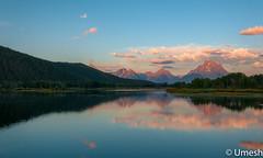 Beautiful Morning at Oxbow Bend, Grand Teton (umeshawasthi) Tags: travel nature landscapes landscape teton grandteton