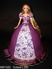 M01322 (merrittsbakery) Tags: cake shaped barbie princess gown birthday toy