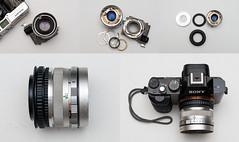Petri 45mm f1.8 on Sony A7 (Lens Bubbles) Tags: petri racer rangefinder 45mm f18 lens diy