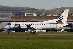 flybe / Loganair Saab 340 (Martyn Cartledge / www.aspphotography.net) Tags: aerodrome aeroplane air aircraft airline airliner airplane airport aspphotography aviation cartledge civilairline civilairliner edi edinburgh flight fly flybe flying glgnm jet loganair martyn plane runway saab scotland sf340 transport wwwaspphotographynet wwwaspphotopgraphynet uk asp photography