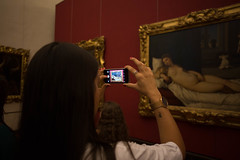 Vnus d'Urbino (n'oras_et_narie) Tags: florence firenze italie toscana toscane galleriadegliuffizi galeriedesoffices vnusdurbino titien girl