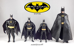 The evolution of Batman (keaton) (metaldriver89) Tags: batman 1989 batman1989 timburton tim burton michael keaton 25th anniversary action figure figures neca 7 inch actionfigure shadows dc movie comics toys custom cape acba display update indoor hottoys hot batmanneca blackandwhite brucewayne bruce wayne articulatedcomicbookart articulated comic book art tonymei tony mei customcape toy toyphotography toybiz dcmultiverse kenner darkknightcollection