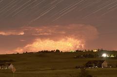 Thunderstorm composite81 (northern_nights) Tags: 100v10f composite lightning thunderstorm colorado clouds anvil mammatus moonlight startrails wow