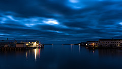 The blue harbour (Eik-Andre Varanger Photo) Tags: arctic blue pentax pentaxart magic light