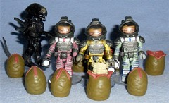 MiniMates - Alien Spacesuits (Darth Ray) Tags: minimates alien spacesuits space suit dallas kane lambert eggs an