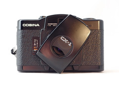 Cosina CX-1 10 () Tags: cosina lomo lomography purple zone focus black plastic japan vintage retro classic 35mm film camera
