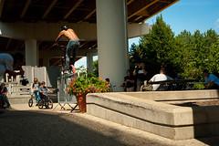 Tony Booker, Rollercoaster Icepick. (Cincinnati,OH) (Kole Grove) Tags: bmx daily grind tony booker kole grove jam street