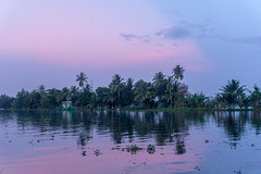 Appelley (Kerala), India (DitchTheMap) Tags: 2016 appelley backwaters florida holiday india kerala landscape nature sunset vacation angeles asia background beach beautiful beauty blue california coconut color exotic flickr houseboat los ocean orange outdoor palm plant reflection romantic scene sea seascape silhouette sky summer sun sunny sunrise travel trees tropical water