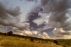 The rain comes (nickneykov) Tags: nikond750 nikon d750 samyang 14mm landscape clouds sunset bulgaria godech
