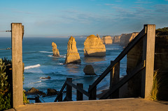 12 Apostles National Park (josselin.berger) Tags: 12 18135mm 40mm australiaaustralian greatoceanroad k30 melbourne pacificocean portcampbell princetown victoria beach big blue bush center centre ciel clouds day foam nationalpark nature original pentax ramp ramps rocks sea sky stairs symetry twelveapostles visit visiter visiteur visitor yellow