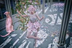 Zeno's Closet Look #47 (Zeno.Lynn) Tags: fashion photography model art 3d avatasr secondlife sl virtual flowers garden si truth catwa maitreya deetalez
