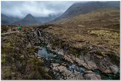 Fairy pools#1 (Hugh Stanton) Tags: mountain stream rocks hikers mist waterfall isleofskye appickoftheweek rgb
