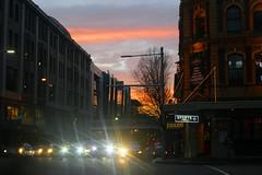 Magie di luce (giuliapretini) Tags: sydney viaggio travel australia city lights luci sunset sky cielo citt viaggiare