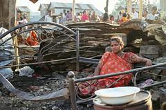 After the Fire... (BatulTheGreat) Tags: fire das dhaka bangladesh slum sudipta arka mohakhali sattola