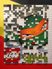 LEGO TMNT (saebaryo) Tags: nyc newyorkcity apple lego tmnt iphone nycc newyorkcomiccon appleiphone5