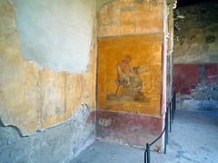 Menander fresco, House of Menander