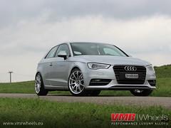VMR Wheels V701 Hyper Silver - Audi A3 2013 (VMR Wheels Europe) Tags: silver wheels a3 hyper 18 audi vmr alufelgen felgen 2013 v701 alurder