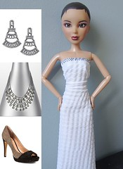 Project Project Runway - The Finale - Ice (katbaro) Tags: doll sewing projectrunway ppr dollclothes projectprojectrunway