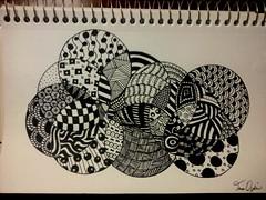 Zentangle (ogdin2011) Tags: blackandwhite abstract drawing penandink zentangle