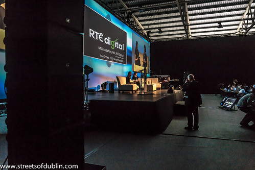 Web Summit 2012: Managing Director Of RTÉ Digital, Múirne Laffan, Is Interviewed By Ann O'Dea (CEO of Silicon Republic)