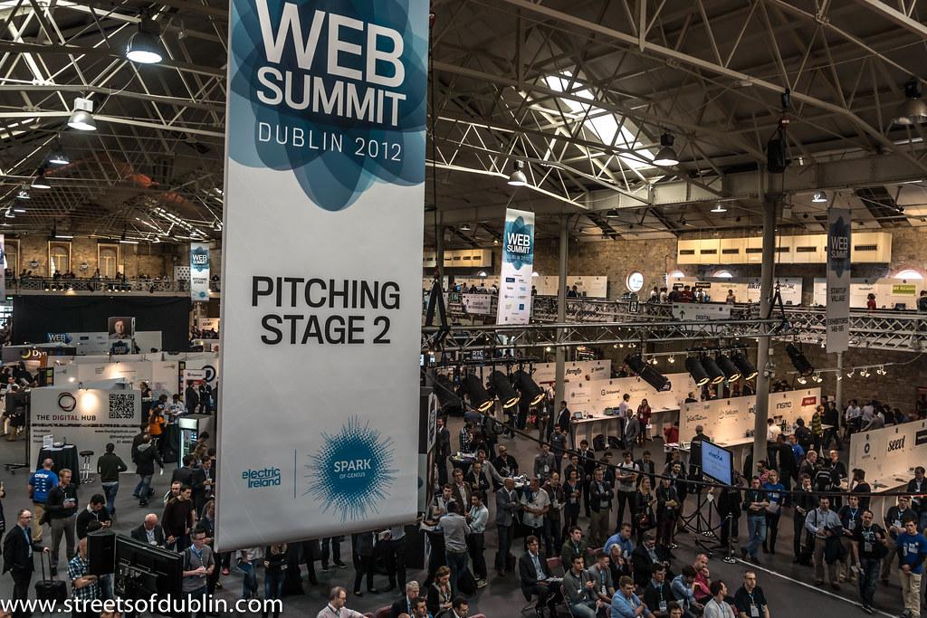 Web Summit 2012 In Dublin (Ireland)