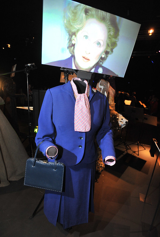 The Iron Lady - Meryl Streep as Margaret Thatcher Hollywood Costume - press view held at the Victoria and Albert Museum. London, England - 17.10.12 Daniel Deme/WENN.com