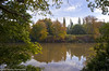 AUTUMN WALK. (Des Hawley,) Tags: uk autumn england tree fall nature water reflections landscapes nikon cheshire outdoor gorgeous serene d300 lymm superhearts deshawley