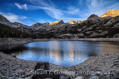 Sunrise at South Lake_0099_100_101 copy (chasingthelight10) Tags: california travel mountains nature dawn landscapes seasons events lakes places vistas sunrises canyons creeks wildernesstrails southlake easternsierra bishopcreekcanyon otherkeywords daarklands