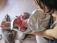 1 day old (almost) (allisoncslewis) Tags: mackenzie freebirth unassistedchildbirth