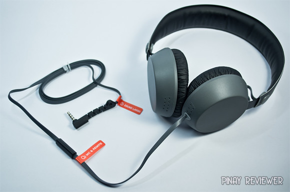 Coloud Boom Headphones - cable, mic and remote