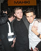 X Factor finalists leaving Mahiki club after celebrating Rylan Clark's birthday. London