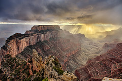 After The Storm (Oilfighter) Tags: sunset utah ut afterthestorm grandcanyon dramatic az northrim grandcanyonnationalpark grandcircle godray sunstreak pointroyal prettiestplaceintheworld mostdramaticpicture