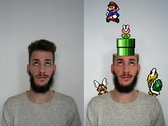 super mario (Anto Retouche) Tags: man game photoshop mario montage tortue champignon homme retouche jeuxvido conceptualphotography