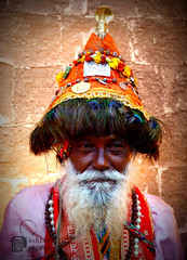 Vasudev (aasheash) Tags: portrait people india color beard photo folk culture maharashtra lomoish vasudev
