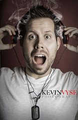 Mind Blowing Music (Kevin Vyse Photography) Tags: lighting music ontario canada studio photography photo kevin image smoke ad blowing smoking mind headphones impressed scared woodstock audio loud 2012 kvphotography