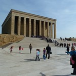 "The mausoleum at Anitkabir <a style=""margin-left:10px; font-size:0.8em;"" href=""http://www.flickr.com/photos/59134591@N00/8134398773/"" target=""_blank"">@flickr</a>"