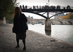Bridges over the Seine, Paris France (bohumil.klein) Tags: paris france europa francie seina 2011 pa