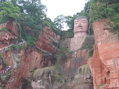 Big Buddah in Leshan, China (mbphillips) Tags: 中国 sichuan 四川 leshan 乐山 乐山大佛 中國 fareast asia アジア 아시아 亚洲 亞洲 china 중국 mbphillips canonixus400 佛教 불교 budismo budista 佛教徒 buddhism buddha geotagged photojournalism photojournalist buddhist temple travel chine