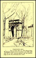 1917  -  Washington ARCH   Greenwich Village, by Anna Alice Chapin with illustrations by Allan Gilbert Cram. (carlylehold) Tags: new york city nyc ny mobile square allan washington arch village allen g greenwich email smartphone gilbert contact tmobile sponsor tmobil cram signup haefner carlylehold solavei haefnerwirelessgmailcom