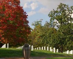 IMGA6216 (bram-sowers) Tags: fall cemetery urn arlington national october2012