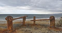 Abstracción (Jose Antonio Kesada) Tags: iglesia playa perspectiva cabodegata almera abstracción encuadre zapillo