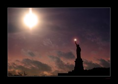 Give Me Your Tired (The World Without People) Tags: newyork storm hope hurricane strength statueofliberty endurance emmalazarus hurricanesandy