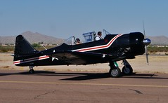 102712-169, N722WB '60 North American T-6G (skw9413) Tags: arizona aircraft 1442mmlens copperstateflyin