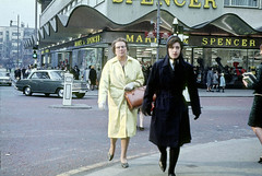 Marks & Spencer, 1964 (MMU Visual Resources) Tags: streets architecture buildings manchester shops shoppers