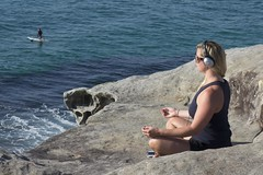 Beach Project - Peace (Julie Byrnes) Tags: sydney australia beachproject juliebyrnes