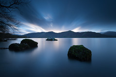Derwent Water (djshoo) Tags: longexposure clouds landscape countryside lakedistrict cumbria derwentwater keswick wideanglelens sigma1020 leefilters bigstopper