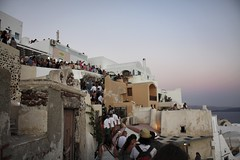 Shoal (andreasmyklebust) Tags: vacation people santorini greece queue oa canoneos450d