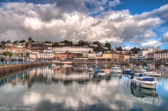 Harbour Delights (RTA Photography) Tags: blue sky water clouds boats harbour torquay hdr photomatix hdraward ringexcellence dblringexcellence eltringexcellence triringexcellence